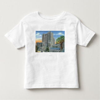 New Haven, CTYale U Sterling Memorial Library Toddler T-shirt