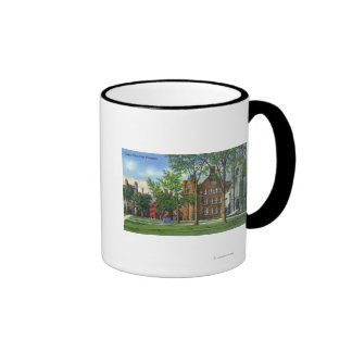 New Haven, CTYale University Campus View Ringer Coffee Mug
