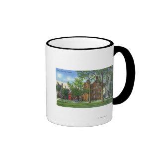 New Haven, CTYale University Campus View Ringer Mug