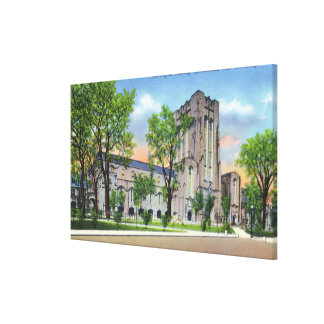 New Haven, CTYale University Payne Whitney Gym Canvas Prints
