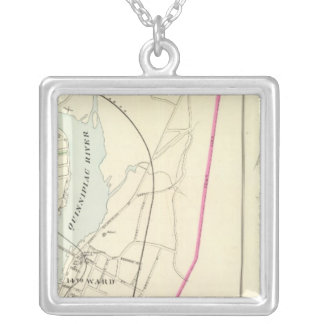 New Haven E Silver Plated Necklace
