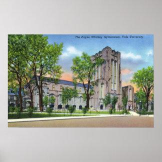 New Haven, gimnasio de Payne Whitney de la univers Póster