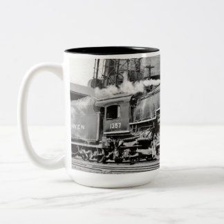 New Haven I-4 #1357 Two-Tone Coffee Mug