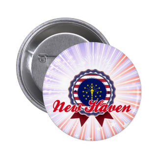 New Haven, IN Pinback Buttons