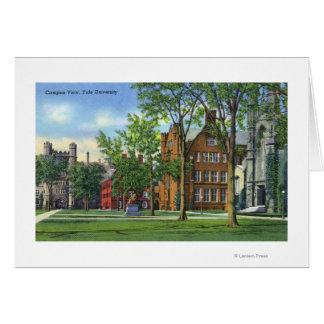 New Haven, opinión del campus universitario de CTY Tarjeta De Felicitación