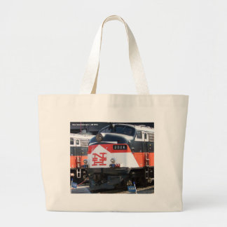 New Haven Railroad ( C- DOT ) FL 9M 2026 Large Tote Bag