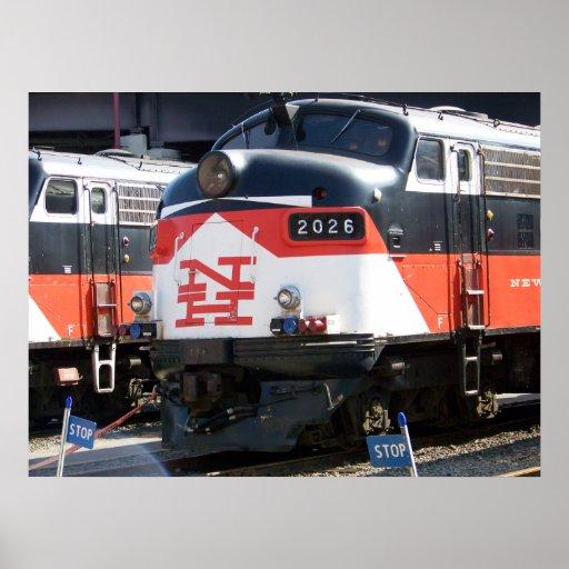 New Haven Railroad  ( C- DOT ) FL 9M 2026 Posters