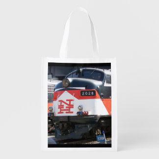 New Haven Railroad,C- DOT FL 9M 2026 Reusable Bag Reusable Grocery Bags