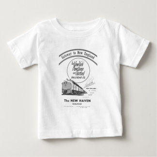 New Haven Railroad-Gateway to New England 1950 Baby T-Shirt