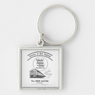 New Haven Railroad-Gateway to New England 1950 Keychain