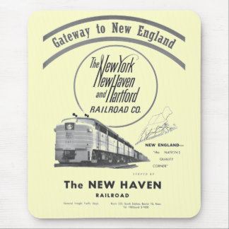 New Haven Railroad-Gateway to New England 1950 Mouse Pad