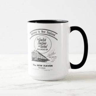 New Haven Railroad-Gateway to New England 1950 Mug
