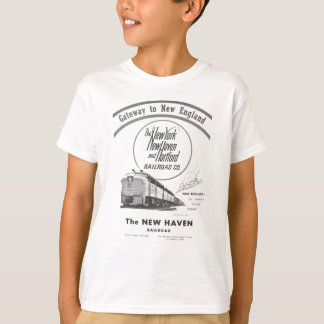 New Haven Railroad-Gateway to New England 1950 T-Shirt