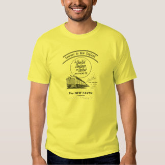 New Haven Railroad-Gateway to New England 1950 Tee Shirts