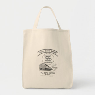 New Haven Railroad-Gateway to New England 1950 Tote Bag