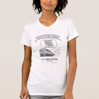 New Haven Railroad-Gateway to New England 1950 Tees