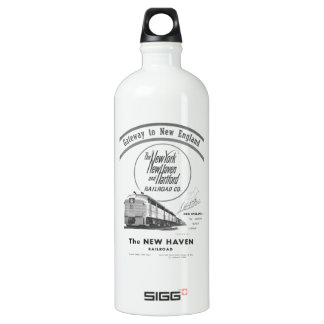New Haven Railroad-Gateway to New England 1950 Water Bottle