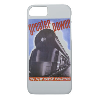 New Haven Railroad Greater Power 1938 iPhone 7 Case