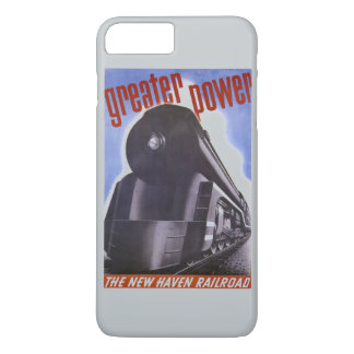 New Haven Railroad Greater Power 1938 iPhone 8 Plus/7 Plus Case