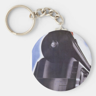 New Haven Railroad Greater Power 1938 Keychain