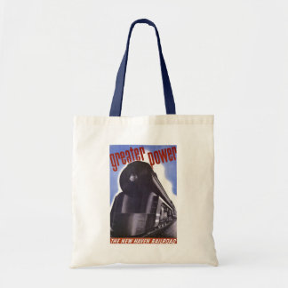 New Haven Railroad Greater Power 1938 Tote Bag