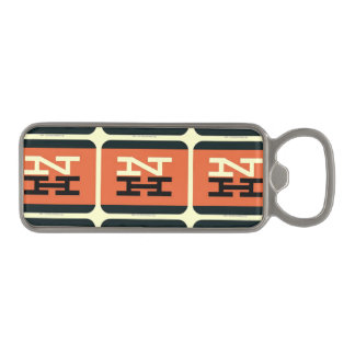 New Haven Railroad Logo Magnetic Bottle Opener