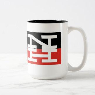 New Haven Railroad Logo Two-Tone Coffee Mug