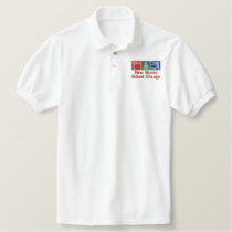 New Haven School Change Embroidered Logo2 Embroidered Polo Shirt