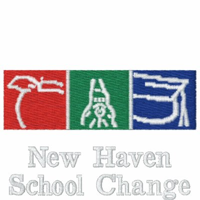 New Haven School Change Embroidered Logo Polo