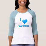 New Haven -- Sky Blue T-shirts