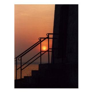 New Haven Sunset Postcard