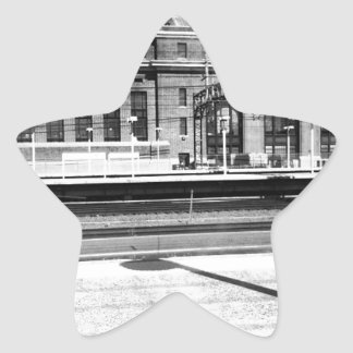 New Haven Union Station Star Sticker