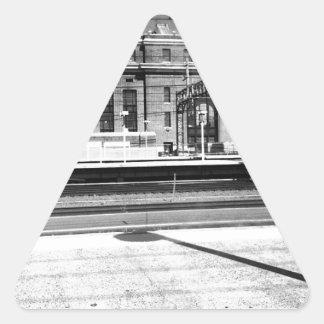 New Haven Union Station Triangle Sticker