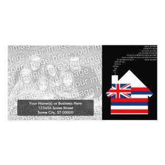 new hawaii address card