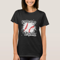 NEW HEADSTRONG BASEBALL SPLATTER DRI FIT ADULT SIZ T-Shirt