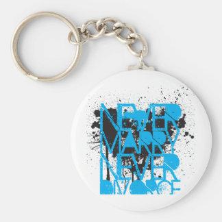 New hip apparel line...Never Marry Never Divorce Keychain