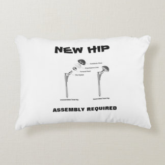 New Hip - Assembly Required Accent Pillow