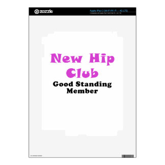 New Hip Club Good Standing Member Decals For iPad 3