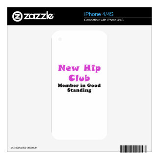 New Hip Club Member in Good Standing Skins For The iPhone 4S