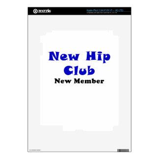 New Hip Club New Member iPad 3 Skin