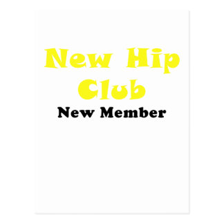 New Hip Club New Member Postcard