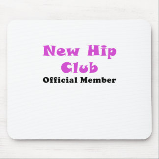 New Hip Club Official Member Mouse Pad