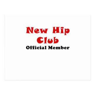 New Hip Club Official Member Postcard