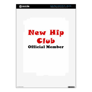 New Hip Club Official Member Skin For iPad 3
