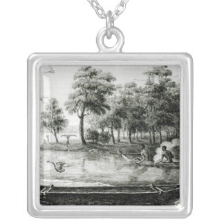 New Holland: New South Wales Silver Plated Necklace