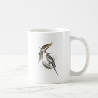 New Holland Parrakeet by Edward Lear Coffee Mug