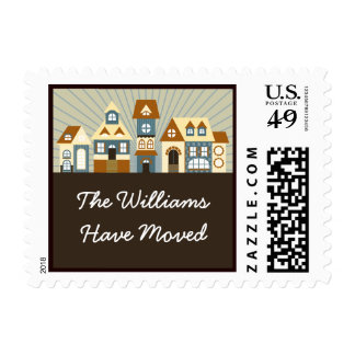 New Home Address Just Moved Postage Stamps