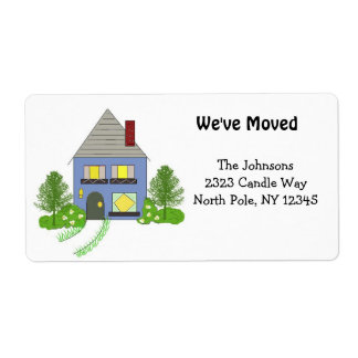 New Home Address Shipping Labels
