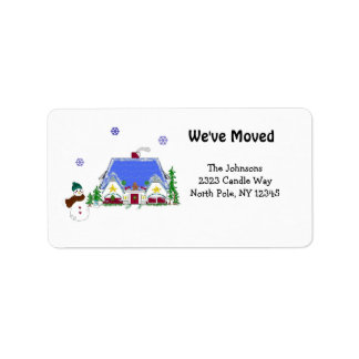New Home Address Personalized Address Labels