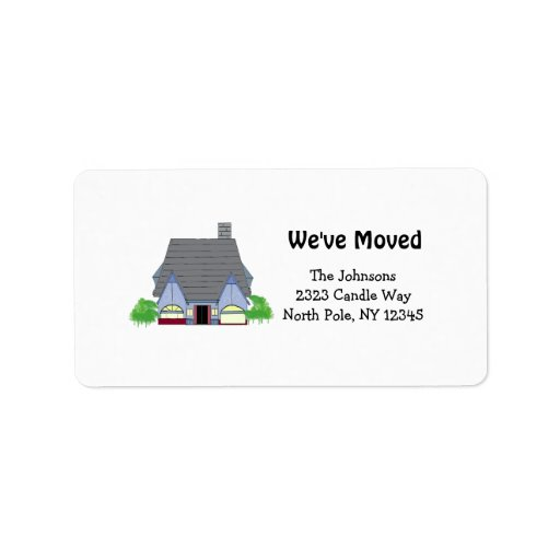 new home address labels With home address stickers